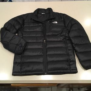The North Face 550 Black Goose Down Puffer Jacket